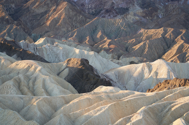 Erosion in Death Valley National Park, California