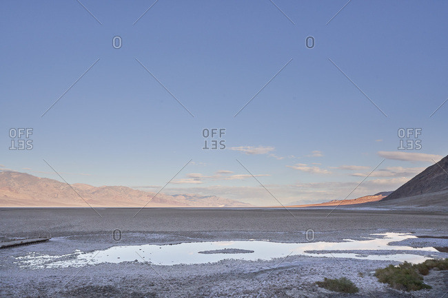 Badwater basin, Death Valley National Park, California