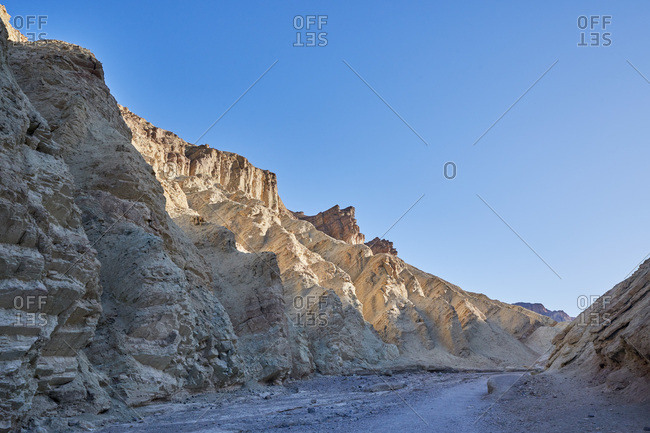 Rock formations in Death Valley National Park, California