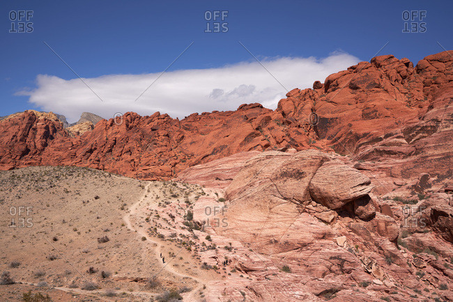 Canyons in Red Rock Canyon National Conservation Area, Nevada
