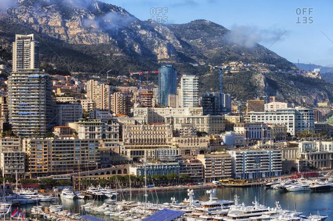 Principality of Monaco- Monaco- Monte Carlo- Cityscape at marina