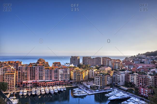 Principality of Monaco- Monaco- Monte Carlo- Fontvieille- Port de Fontvieille