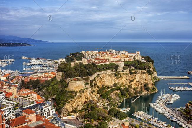Principality of Monaco- Monaco- Monaco City- Le Rocher
