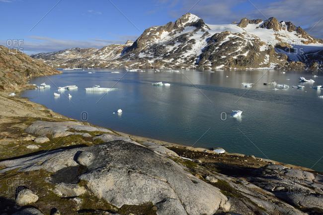 Greenland- East Greenland- Sammileq Fjord