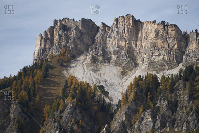 Mountain peaks of the italian dolomites, Cortina d'Ampezzo, Italy