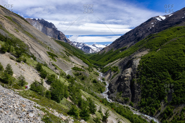 Scenery of valley, Patagonia