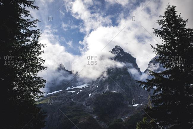 Mountains of North Cascades National Park, Washington State, USA