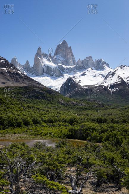 Monte Fitz Roy, Patagonia - Offset