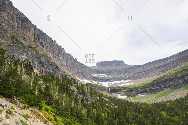 Mountain landscape, Glacier National Park