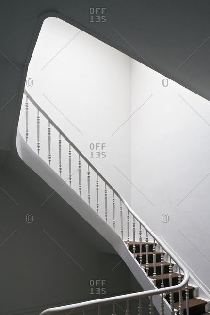 Staircase inside house
