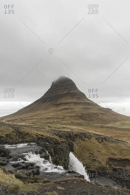 Iceland- Snaefellsnes peninsula- Kirkjufell- waterfall