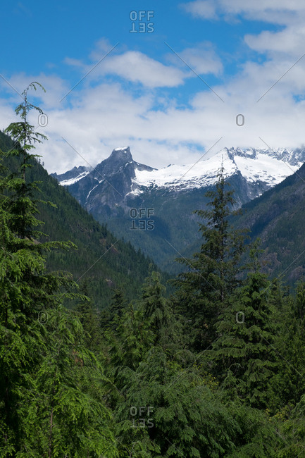 The North Cascades Mountains