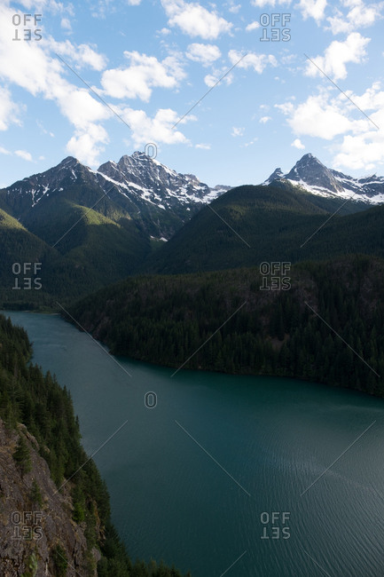 Diablo Lake lookout at North Cascades National Park