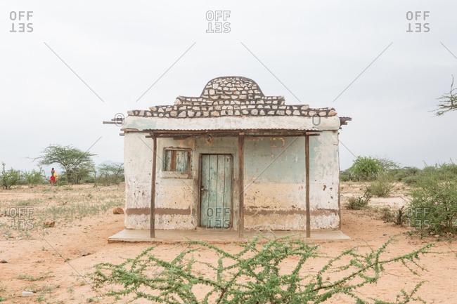 A building in Samburu National Reserve