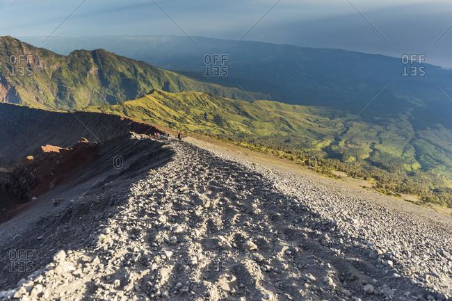 May 23, 2017: Scenery at Gunung Rinjani