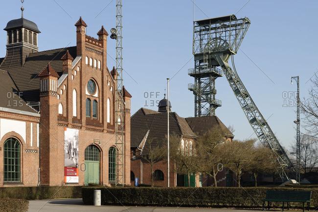 Industrial museum LWL coal-mine to Zollern, Dortmund-Bovinghausen, North Rhine-Westphalia, Germany
