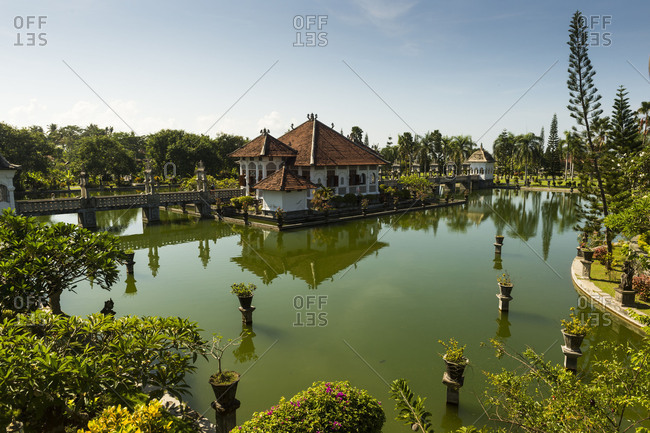 May 24, 2017: Amlapura, water palace Puri Taman Ujung