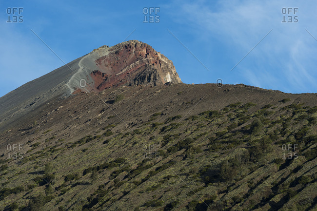 The summit of the Gunung Rinjani