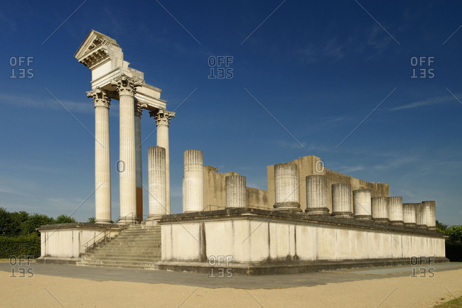 Archaeologischer Park, Xanten, North Rhine-Westphalia, the Lower Rhine, Germany