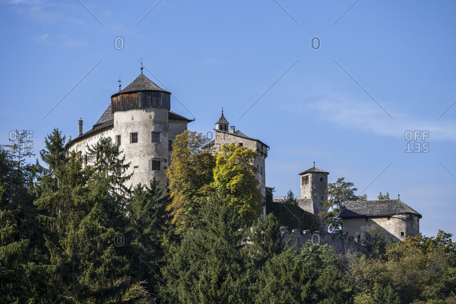 Prosels Castle, late Gothic castle complex, South Tyrol, Italy