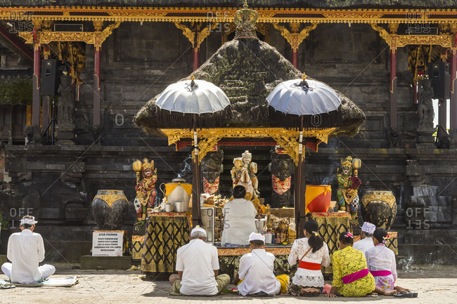 May 24, 2017: The temple Pura Ulun Danu Batur