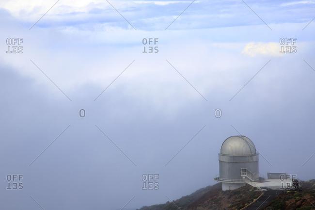 La Palma island, observatory on Roque de los Muchachos, the Canaries, Spain, Europe