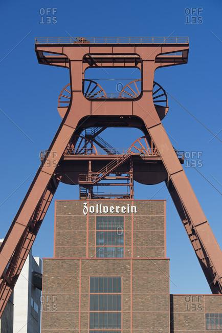 Zollverein Coal Mine Industrial Complex, shaft XII, UNESCO world heritage, Essen, North Rhine-Westphalia, Germany