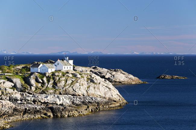 July 28, 2017: Europe, Norway,  Nordland, Lofoten, Reine, Lofoten und Ofoten
