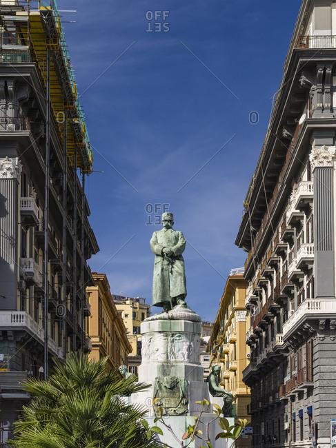 Statue Umberto I in Naples