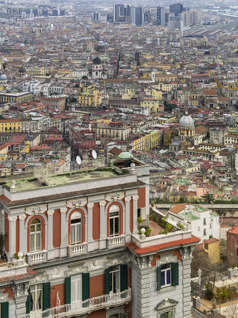 Naples birds-eye view