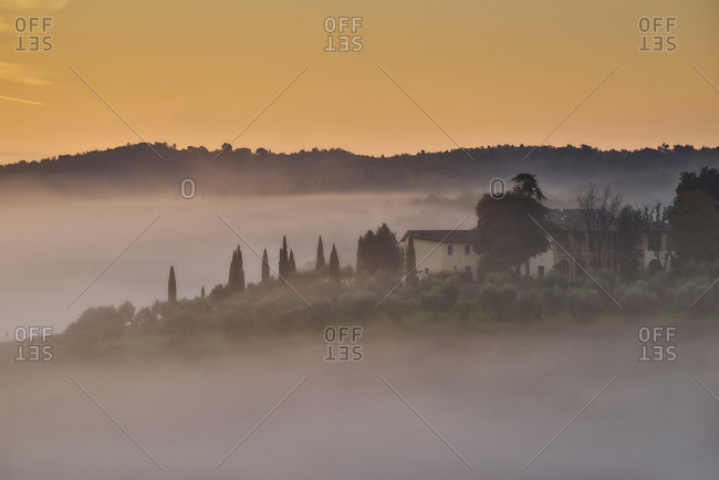 Val dOrcia, Tuscany, Italy