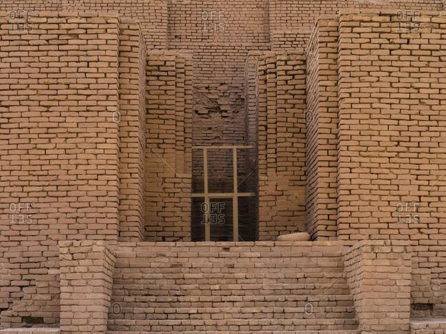 Elamite terraced temple at Chogha Zanbil