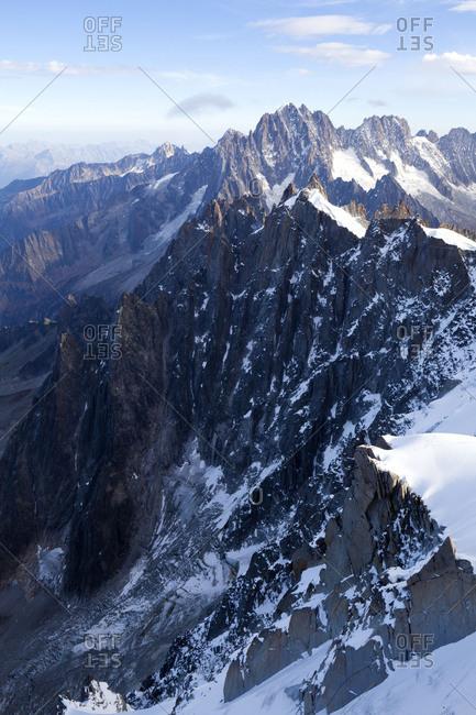 Mont Blanc area Midi-Plan-Grat