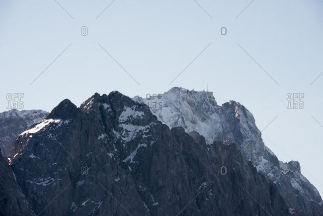 Zugspitze, summit