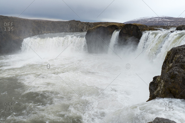 Iceland- North of Iceland- waterfall