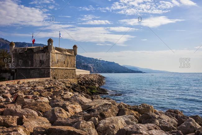 France-  Provence-Alpes-Cote d'Azur- Menton- Bastion Jean Cocteau Museum