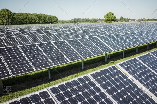 Germany- Kevelaer- solar plant