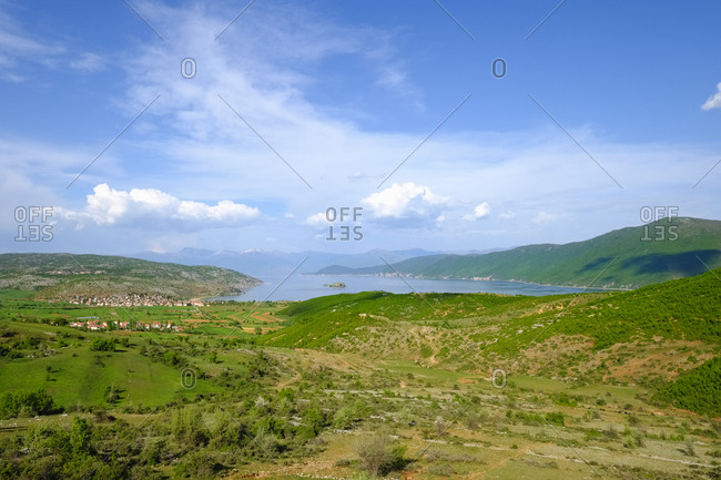Albania- Prespa National Park- Lake Prespa near Korca