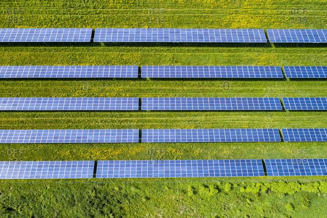Germany- Baden-Wuerttemberg- solar plant