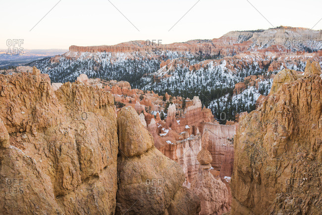Vast view of Bryce Canyon National Park, Utah