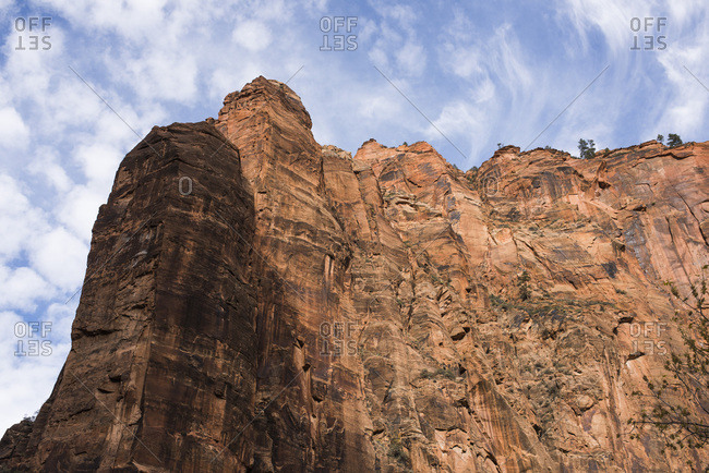 Rock formation in Zion National Park, Utah