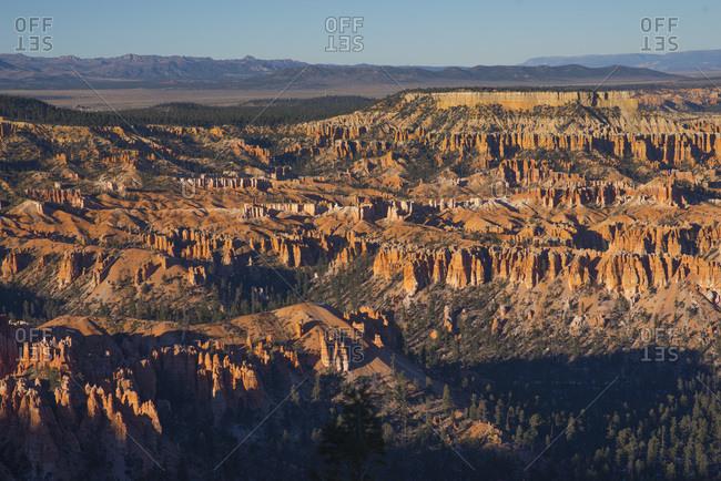 Vast view of Zion National Park, Utah