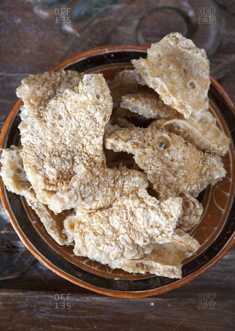 Pork rinds from the Offset Collection