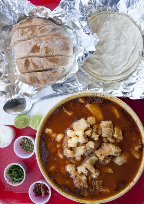 Making enchiladas