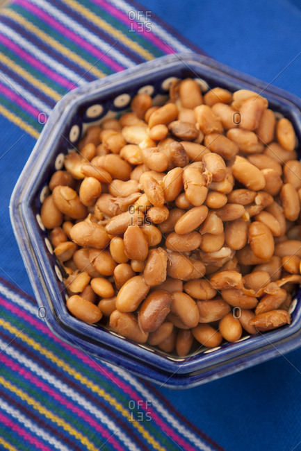 Beans in a bowl - Offset