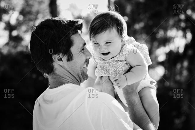 Black baby dad white White Girl