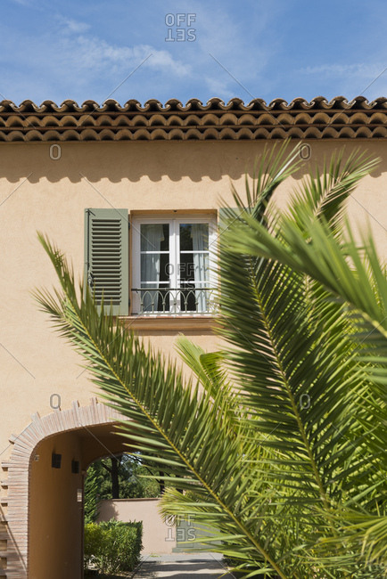 Exterior of house in the south of France