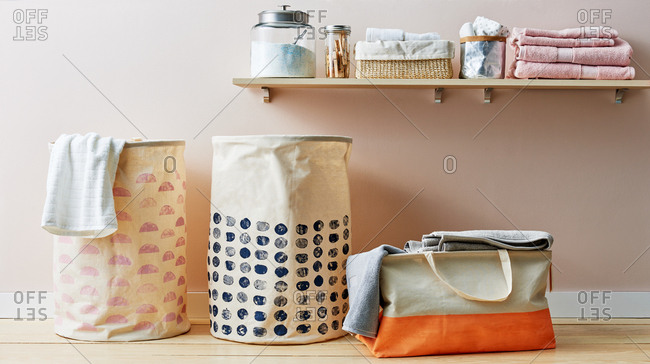 DIY Laundry Baskets