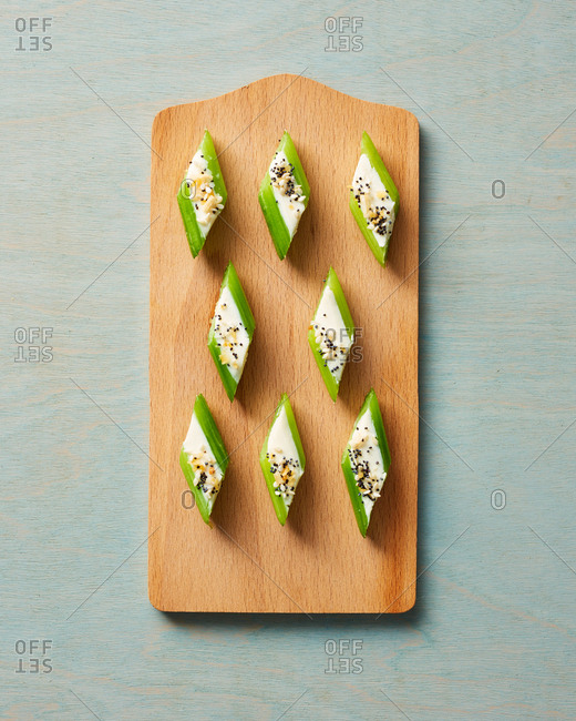 Celery Cream Cheese Appetizer