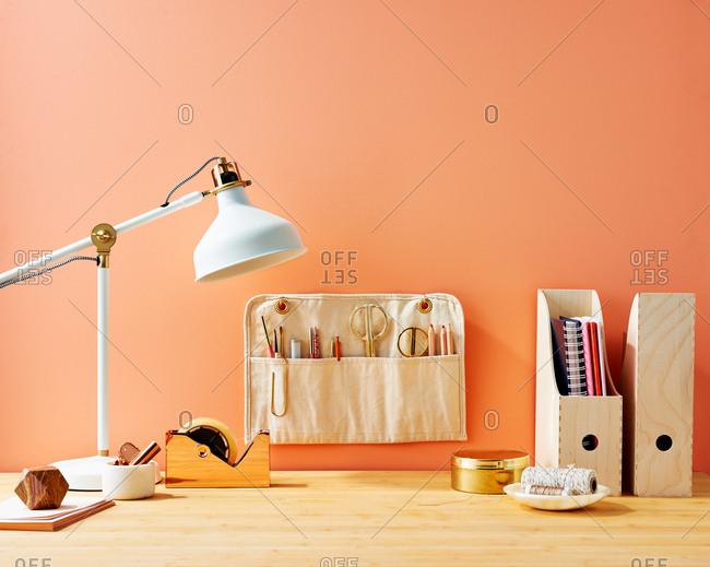 An Organized Desk